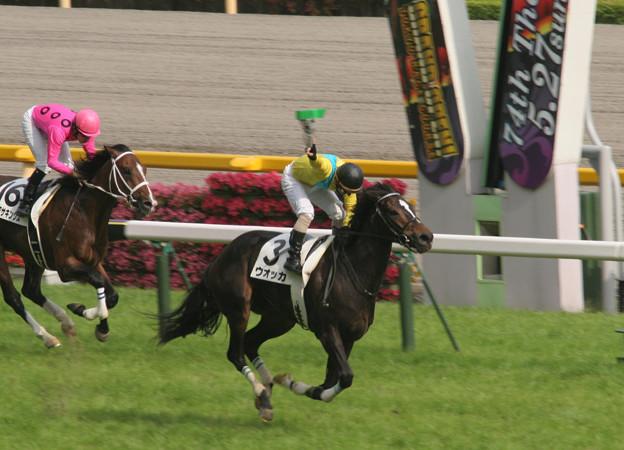 ウオッカ レース_2(07/05/27・第74回 東京優駿)