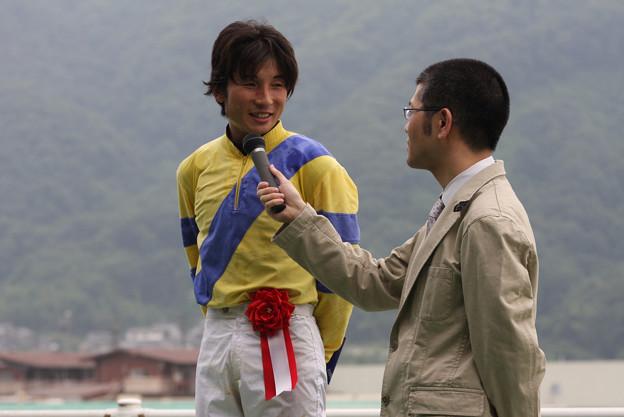 池田 敏樹 騎手(10/06/27・第3回 福山チャンピオンシップ)