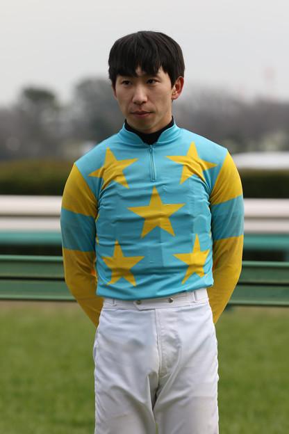 横山 和生 騎手(20/01/12・黒竹賞)
