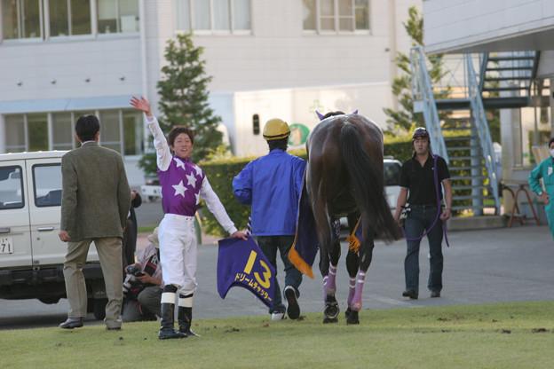 岩橋 勇二 騎手(05/10/09・第31回 ビューチフル・ドリーマーカップ)