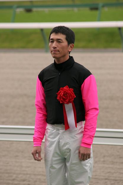 板垣 吉則 騎手(06/10/08・第32回 ビューチフル・ドリーマーカップ)