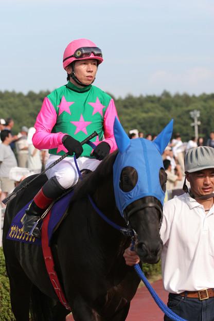 オウシュウクラウン パドック_2(06/08/06・第38回 不来方賞)