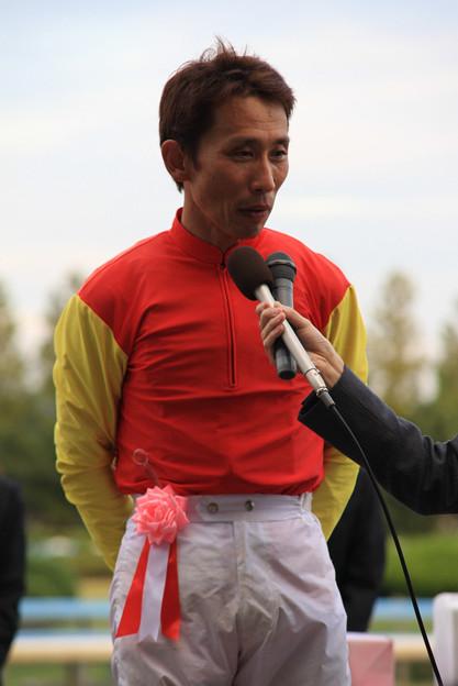中川 雅之 騎手(08/10/12・第43回 サラブレッド大賞典)