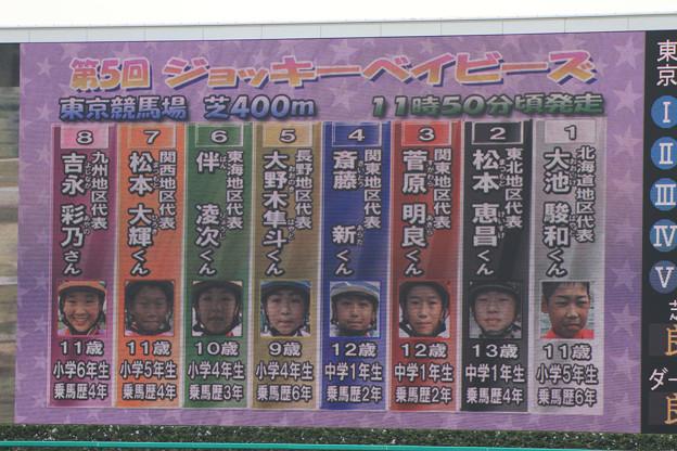 第5回 ジョッキーベイビーズ_1(13/11/03)
