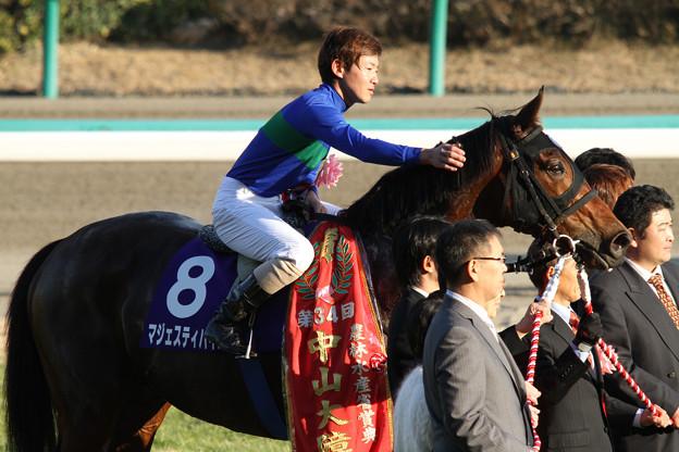 Photos: 第134回 中山大障害 口取り(11/12/24)
