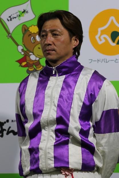 Photos: 阿部 武臣 騎手(19/03/03・第50回 イレネー記念)