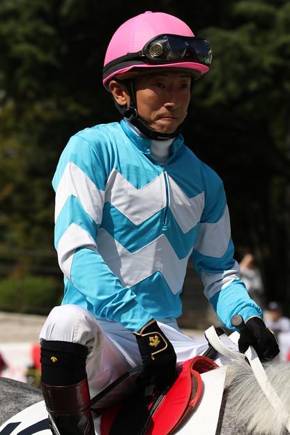 石神 深一 騎手(18/10/06・4R)