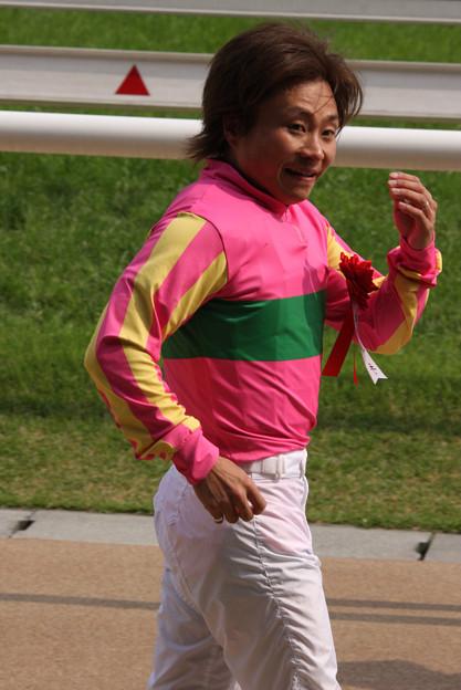 菊地 昇吾 騎手(08/06/14・第10回 東京ハイジャンプ)