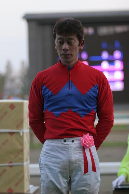 徳留 康豊 騎手(05/10/30・第53回 北國王冠)