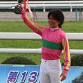 Photos: 白浜 雄造 騎手(11/11/12・第13回 京都ジャンプステークス)