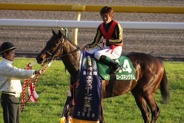 Photos: ローズキングダム(09/11/21・第14回 東京スポーツ杯 2歳ステークス)