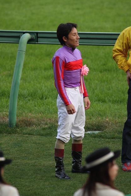 吉田 豊 騎手(07/12/01・第41回 スポーツニッポン賞 ステイヤーズステークス)