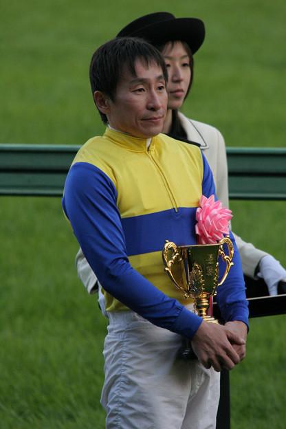 横山 典弘 騎手_2(08/12/06・第42回 スポーツニッポン賞 ステイヤーズステークス)