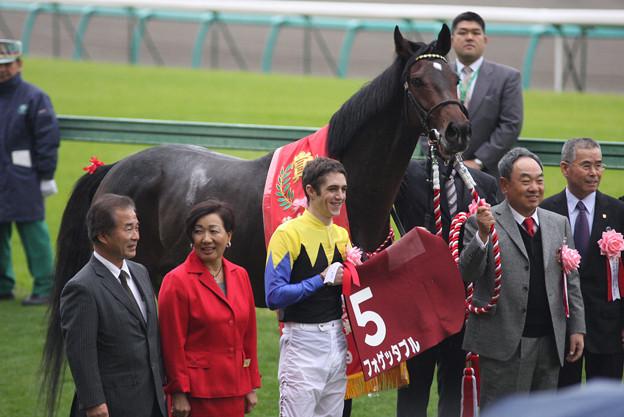 第43回 スポーツニッポン賞ステイヤーズステークス 口取り(09/12/05)
