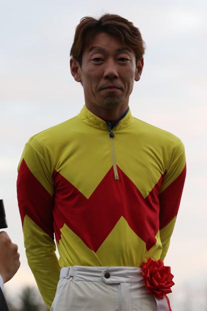 畑中 信司 騎手(19/12/08・第55回 中日杯)
