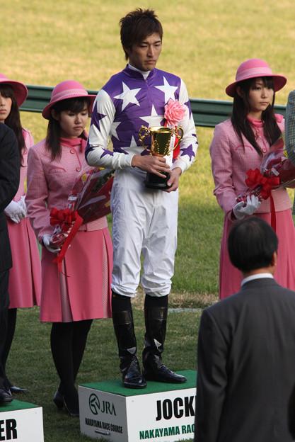 西谷 誠 騎手(09/12/26・第132回 中山大障害)