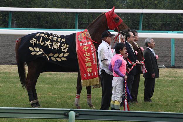 Photos: 第135回 中山大障害 口取り(12/12/22)
