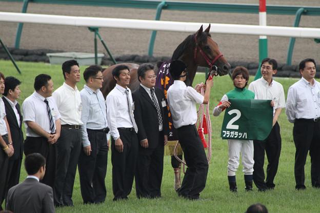 Photos: 第60回 トヨタ賞中京記念 口取り(12/07/22)