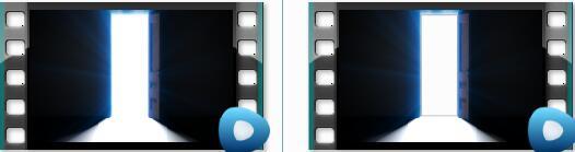 开门迎接光明带通道高清视频素材 Doorway Opening for Opportunity
