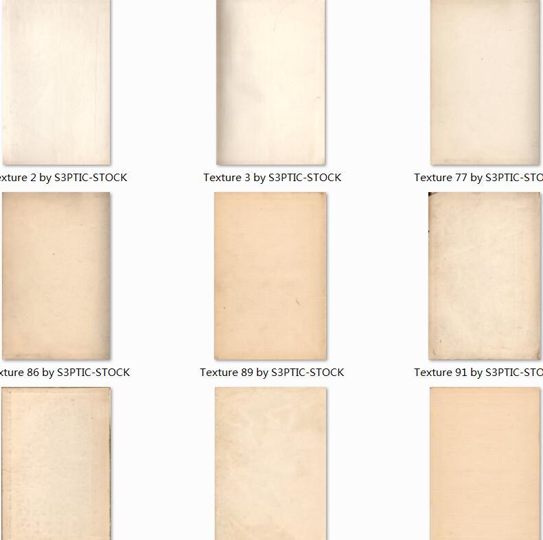 淡雅复古纸张背景高清图片素材