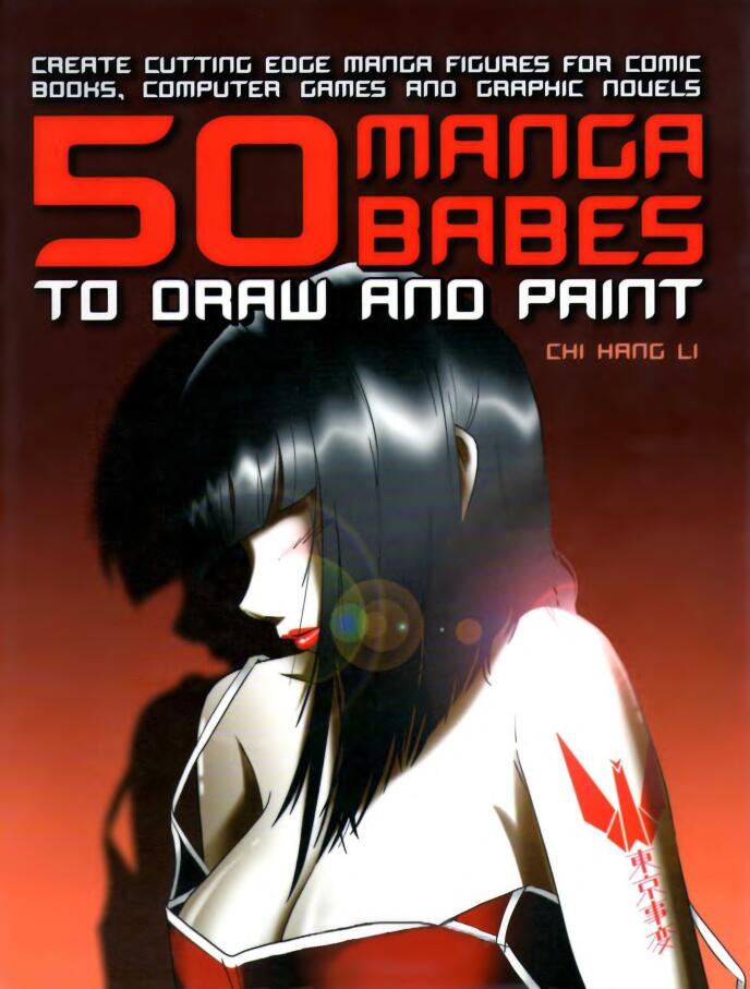50个漫画宝贝女孩绘画(50 Manga babes to draw and paint)英文版