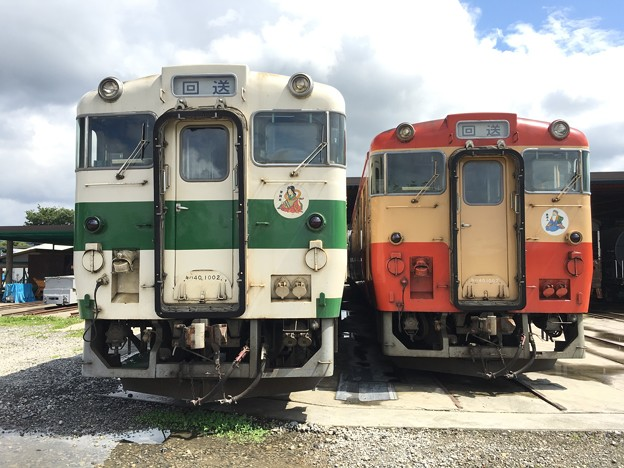 キハ40 1002,1007 那珂川清流鉄道保存会