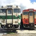 写真: キハ40 1002,1007 那珂川清流鉄道保存会