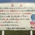 Photos: ちはなちゃん 注意 幕張海浜緑地