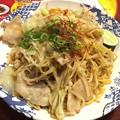 Photos: 三元豚とたっぷり野菜の塩焼きそば 徳島県産すだち&瀬戸内花藻塩