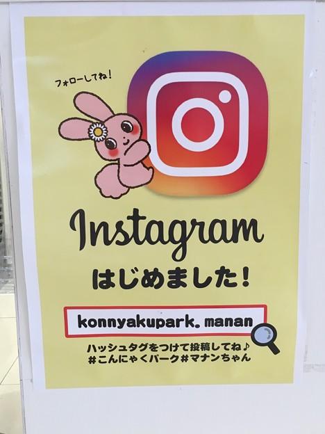 こんにゃくパーク Instagramはじめました!