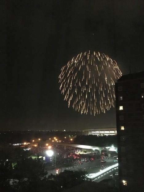 幕張ビーチ花火フェスタ2017 アパホテル&リゾート東京ベイ幕張より
