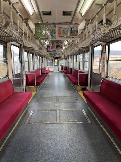 銚子電鉄 3000形 車内