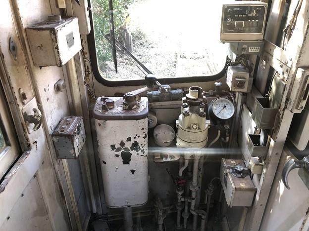 銚子電鉄 デハ801 運転台