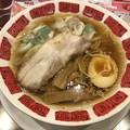 全部盛り雲呑麺(三種乗せ雲呑と炙りチャーシューのデラックス麺)