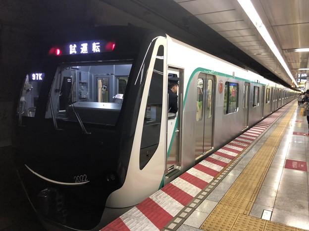 東急2020系 2122F 試運転 錦糸町駅