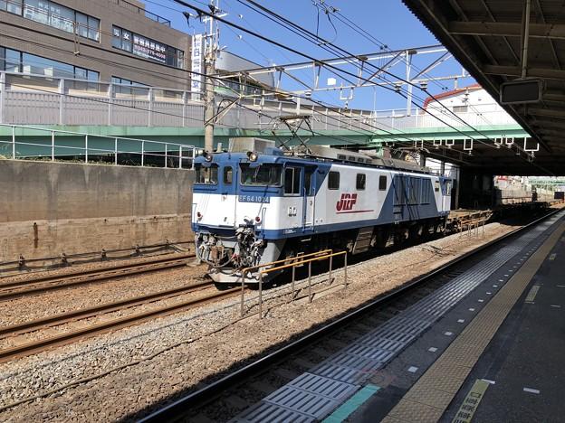 EF64 1024 新検見川駅