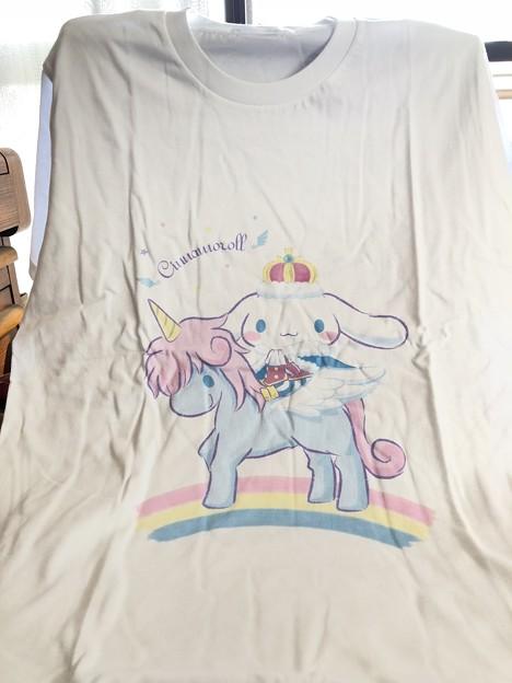 シナモロール王国 早期入会プレゼントTシャツ
