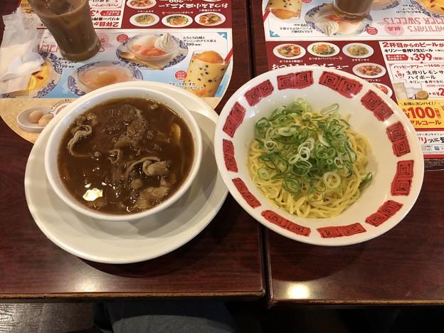 肉盛りつけ麺~ゆず風味~