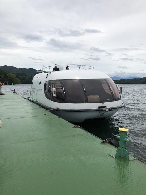 ツインビー 野尻湖定期船