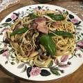 Photos: ピリ辛!森のキノコのスパゲティ
