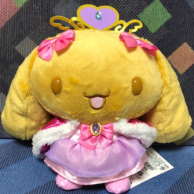 シナモロール王国 ぬいぐるみ<プリンセスモカ>