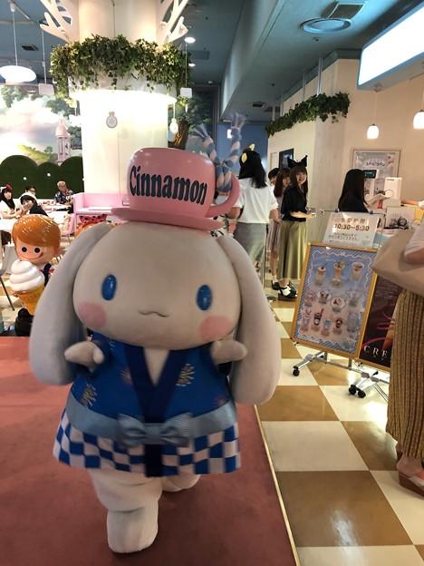 シナモロール キャラクターグリーティング サンリオピューロランド