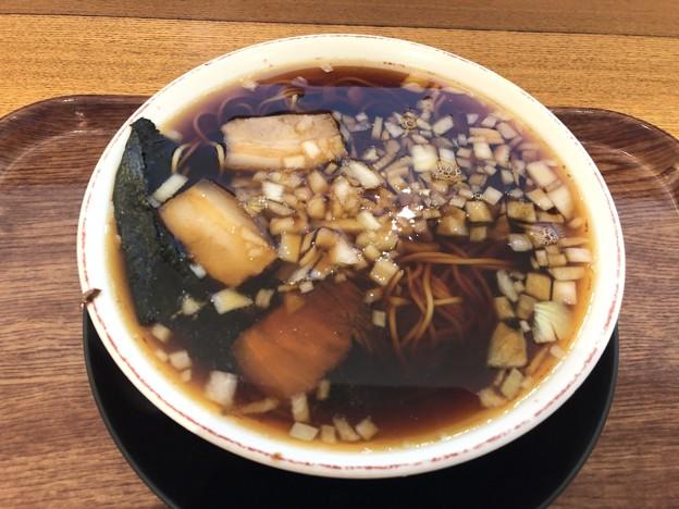 竹岡式 醤油ラーメン
