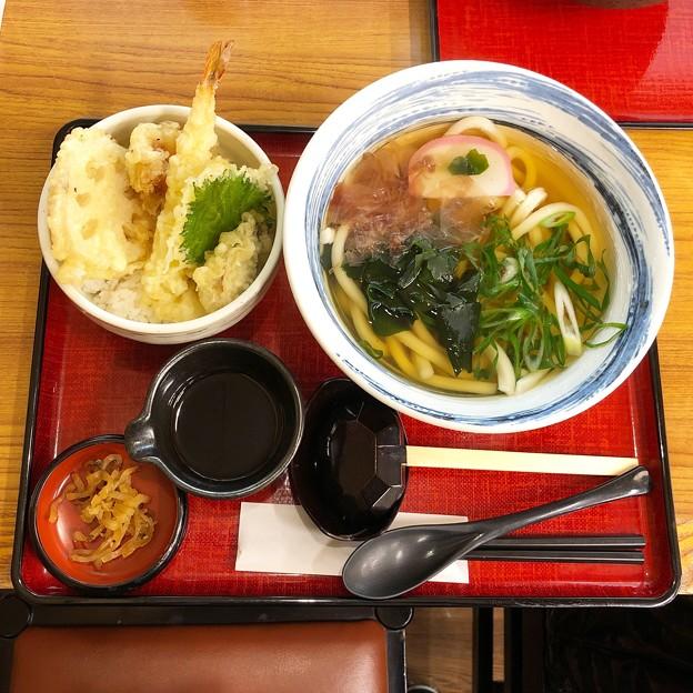 冬の季節天丼定食