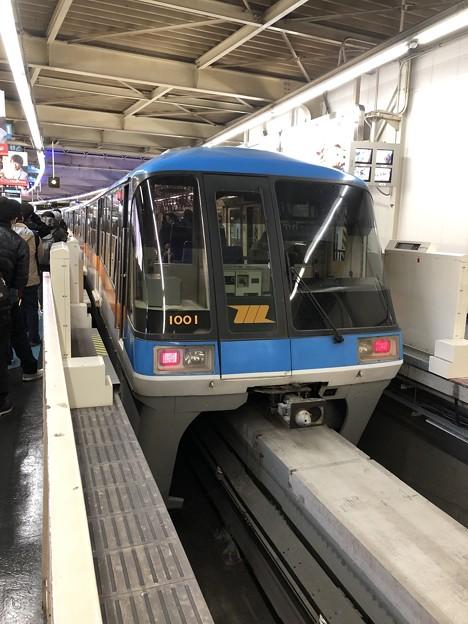 東京モノレール 1000形 浜松町駅
