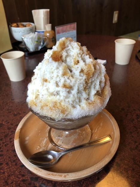 かき氷 紅茶ミルク(アールグレイ)