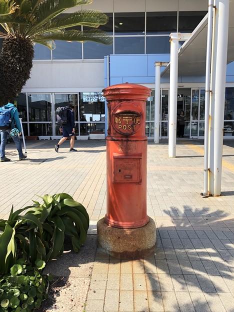 郵便ポスト 元町港