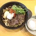 Photos: 牛すきやき トマトとおろし添え(半玉うどん入り)