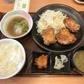 Photos: おろしから揚げ定食(もも3個)