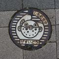 Photos: s2262_下関市マンホール_げすいどう_単色